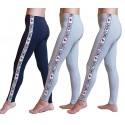 Leggings Donna MADE IN ITALY Tre Pezzi SWEET YEARS Moda Cotone Bioelastico
