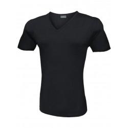 T-Shirt Uomo Liabel Elasticizzante 3 Pezzi Scollo a V Manica Corta Colori Assortiti